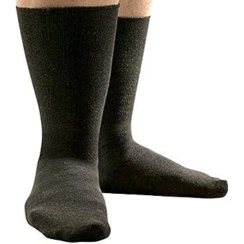 Amazon.com: SmartKnit Seamless Wide Crew Socks for