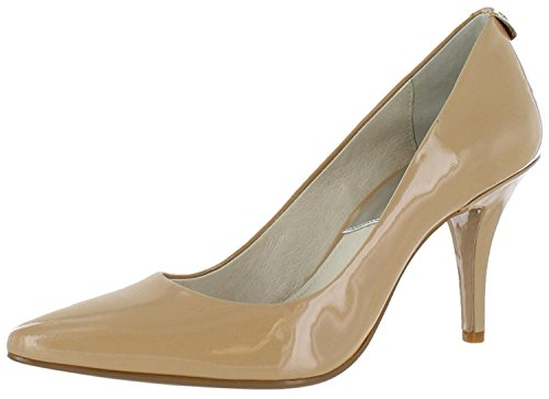 MICHAEL Michael Kors Womens Flex Mid Pump Leather, Blossom Kid Suede, Size - Kids Michael Kors