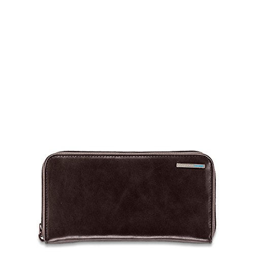 Piquadro Woman's Wallet In Leather, Mahogany, One Size by Piquadro
