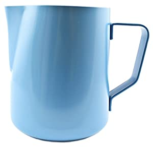 Zoie + Chloe 20 oz Non-Stick Stainless Steel Milk Steaming & Frothing Pitcher (600ml) - Coffee Latte Cappuccino