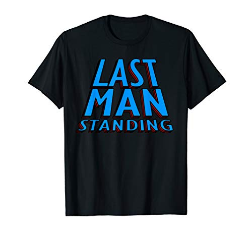 Last Man Standing TShirt - Winner Champion Battle Royale