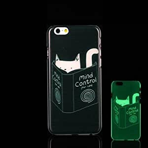 ZL iPhone 6 Plus compatible Novelty/Graphic/Glow in the Dark Back Cover