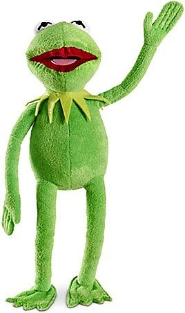 Kermit The Frog Muppets (The Muppets Exclusive 16 Inch DELUXE Plush Figure Kermit)