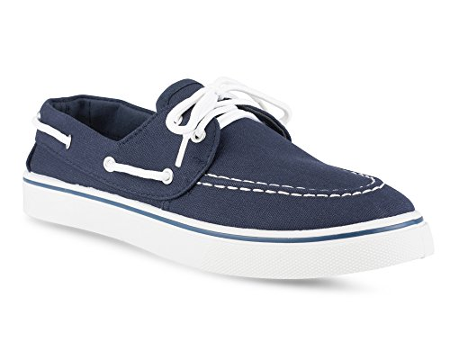Influence Mens Casual Fashion Boat Shoe, TOPSIDERS NAVY, Size (Blue Boat Shoes)