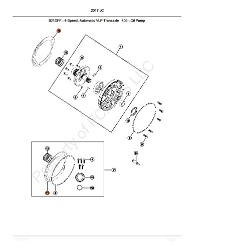 Mopar 4412844 Automatic Transmission Gasket And Seal Kit