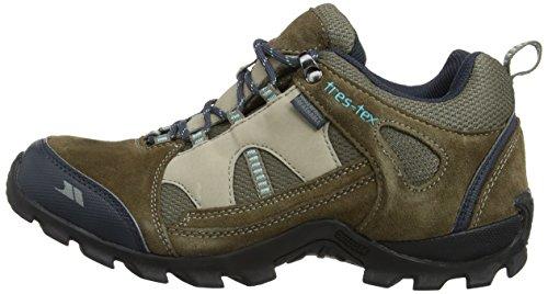 Chaussures Beige Pour Fawn Noir Montantes De Trespass Randonnée Femme dwx74dq0