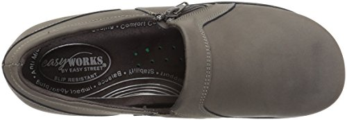 Easy Works Women's Bentley Health Care Professional Shoe, Grey Nubuck, 7.5 W US by Easy Works (Image #8)