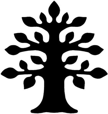 regalo colgante /& Tarjetas Manualidades Jumbo perforadora de bosque extra grande /Árbol Tama/ño: 7,2/cm x 6,8/cm dise/ño dise/ño de perforaci/ón para papel Natural