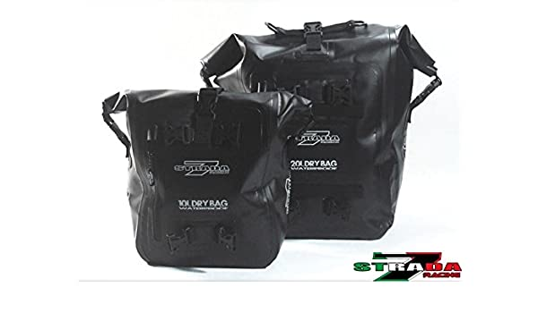 c4be53a4c226 Amazon.com: Strada 7 Racing Motorcycle Dry Bag Tail Bag Combo 20L ...