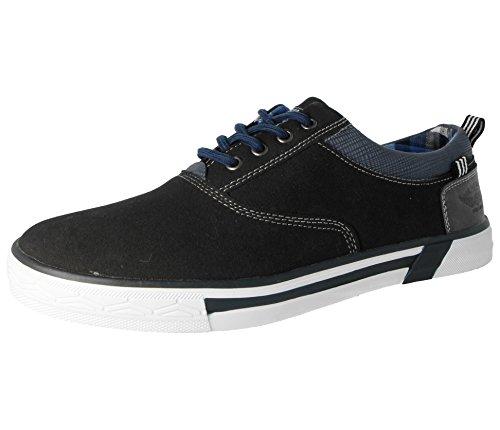 Footwear Homme Laces Black on Bottes blue Classiques Foster Femme Gar faZHqfd