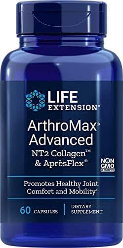 Life Extension Arthromax Advanced with NT2 Collagen & ApresFlex, 60 Capsules