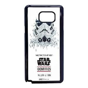 Star Wars 15 funda Samsung Galaxy Note 5 caja del teléfono celular funda K2P5KSQAAC negro