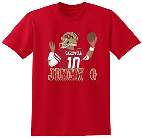 Red San Francisco Jimmy G T Shirt Adult