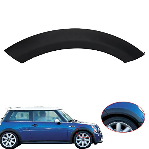 Price comparison product image Jade Mini Cooper Wheel Arch Trim Cover Wheel Housing Trim On Hood Front Right For MINI One / One D / Cooper / Cooper S R50 R52 R53 2002-2008 51131505866