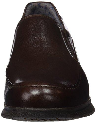 Vachetta Marrón ES Marino Hombre Fluchos Retail Brandy 9821 Brandy Cordones Zapatos Spain sin CazqxgF