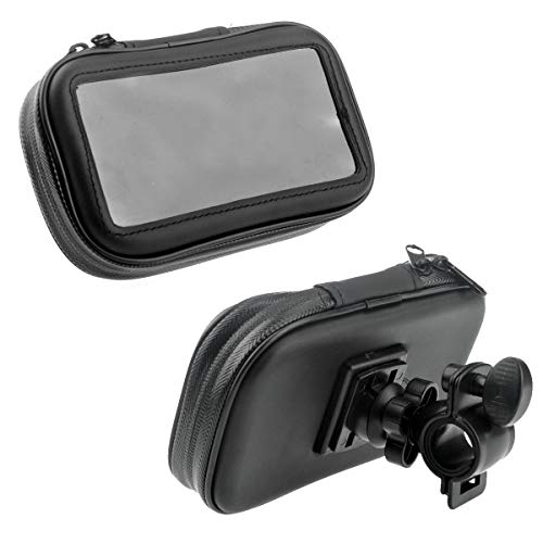 - Ants-Store - Portable Bike Bicycle Motorcycle Waterproof Bag Case with Mount Holder for 4.3