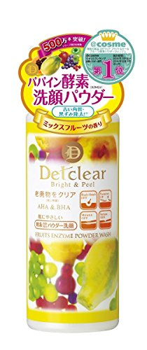 MEISHOKU Detclear Bright & Peel Fruits Enzyme Powder Wash
