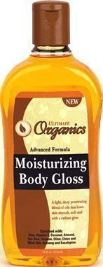 Ultimate Organics Moisturizing Body Gloss - 3