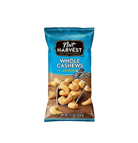 Nut Harvest, Cashews, 2.5 oz (Pack of 8) by Nut Harvest