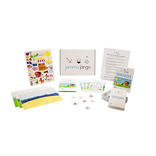 l Learn Spanish Language Learning System For Kids (Ages 0-7) - Includes: DVD, Vocabulary Flashcards, Activity Coloring Booklet, Bingo Game & Stickers ()