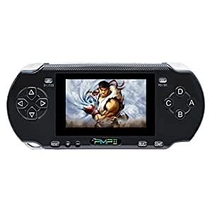 Handheld Game Console , Anbernic Premium Retro Gema Console 3 Inch PMP II Game Player Classic Game Console ,Birthday Presents for Children - Black