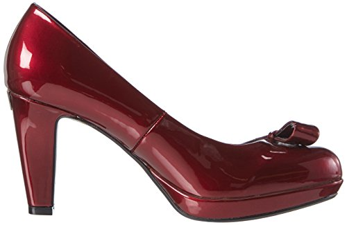 Bugatti V4964pr6l Pumps Women's Closed Red Bordo Toe rUqrpCxcw5
