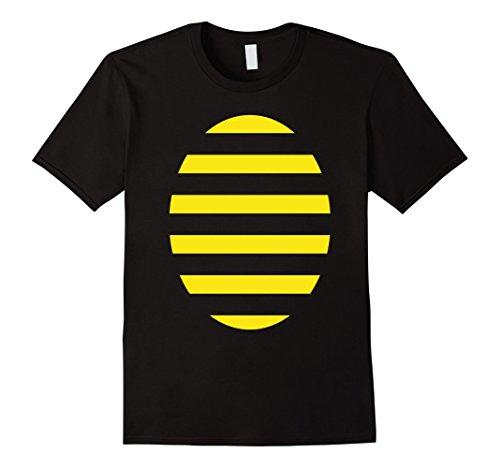 Mens Bee Halloween Costume T-Shirt Funny Cute Honey Bumblebee Tee 3XL Black (Cute Bumble Bee Costumes)