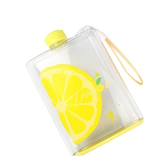 Creative Fruit Portable Travel Cup Travel Mugs - Lemon