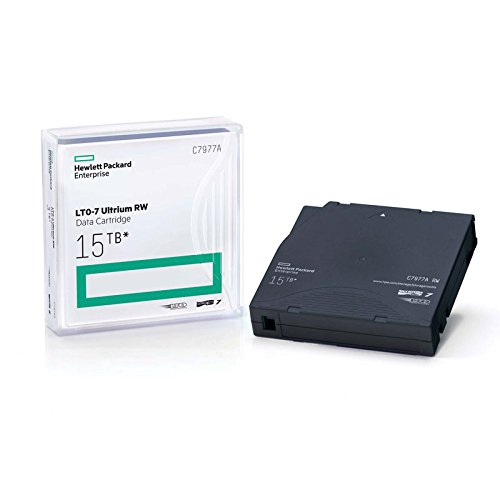 HP LTO, Ultrium-7, C7977A, 7A, 6TB/15TB, TAA by HEWLETT PACKARD ENTERPRISE