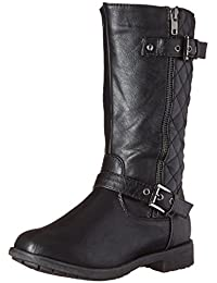 Girls Kids Pack-95K Riding Zipper Boots