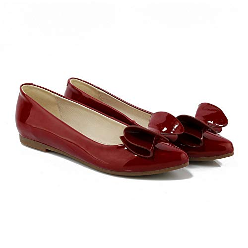 Red BalaMasa Femme EU 36 Compensées Rouge Sandales 5 APL10826 tXqOrFwq