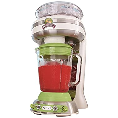 Margaritaville Key West Frozen Concoction Maker with Easy Pour Jar & No-Brainer Mixer, Dishwasher Safe