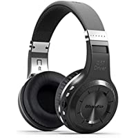 Bluedio H Plus Turbine Wireless Bluetooth 4.1 Stereo Headphones with Mic Support Micro SD Card Paly/FM Radio (Black)