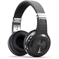 Bluedio H Plus Turbine Wireless Bluetooth 4.1 Stereo Headphones with Mic Support Micro SD Card Paly/FM Radio (Black)