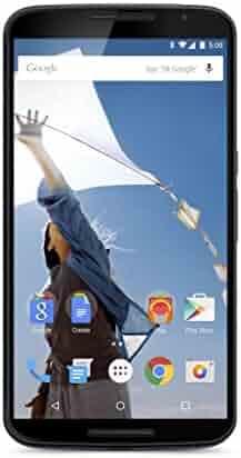 Motorola Nexus 6 Unlocked Smartphone, 32 GB, U. S. Warranty - Midnight Blue