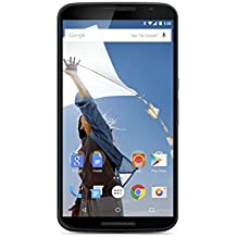 "Motorola Nexus 6 32GB GSM Unlocked Smartphone w/ Brilliant 6"" Screen & Dual Front-facing Stereo Speakers - Midnight Blue,International Version"