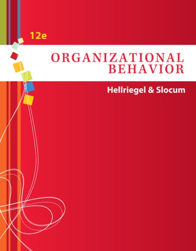 Organizational Behavior (with Bind-In Competency Test Web Site Printed Access Card) (Available Titles CengageNOW)