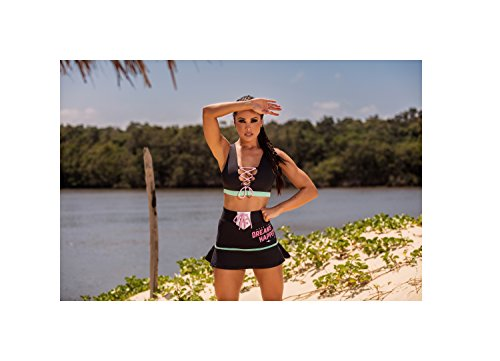 Hipkini Damen Desert Marina Tops, Schwarz, Medium