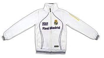 Sudadera Blanca del Real Madrid Since 1902  Amazon.es  Deportes y ... 00e653ddebd6e