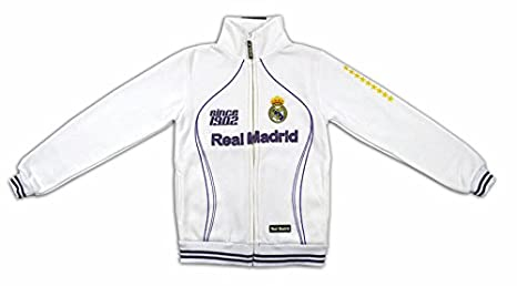 Sudadera Blanca del Real Madrid Since 1902: Amazon.es: Deportes y aire libre