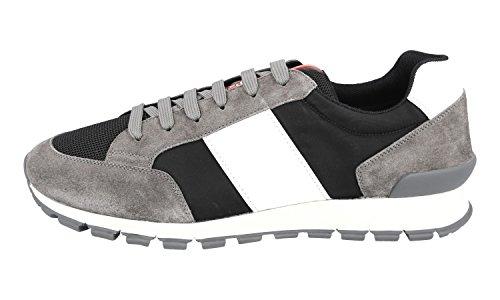 Prada Heren 4e3053 Lederen Sneaker