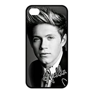 Popular band One Direction - Niall Horan signing Stylish Apple iPhone 4 / 4S, iPhone 4 / 4S Black Silicone Case Protective Cover, Water Proof & Diy Customized Phone Case iPhone 4 / 4S