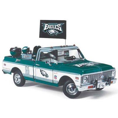 Philadelphia Eagles Danbury Mint 1972 Chevy Cheyenne with individual parts