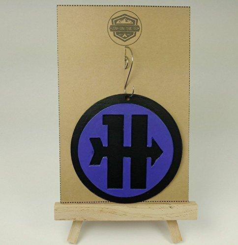 - Hawkeye Ornament | Avengers | Marvel | Comic Book | Captain America | Shield | Stan Lee | Rear View Mirror | Secret Santa | Gift Exchange