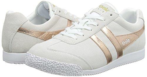 Gola Sneaker Mirror rose Gold natural Donna Harrier Bianco TAAxvw