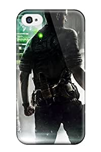 Durable Tom Clancy's Splinter Cell Blacklist Back Case/cover For Iphone 4/4s