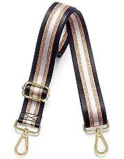 Purse Strap Replacement Crossbody Handbag Stripe Wide Adjustable