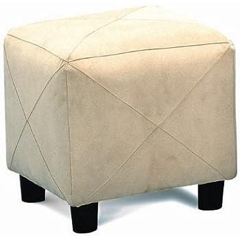 Amazon Com Microfiber Cubes Footstool Ottoman Kitchen