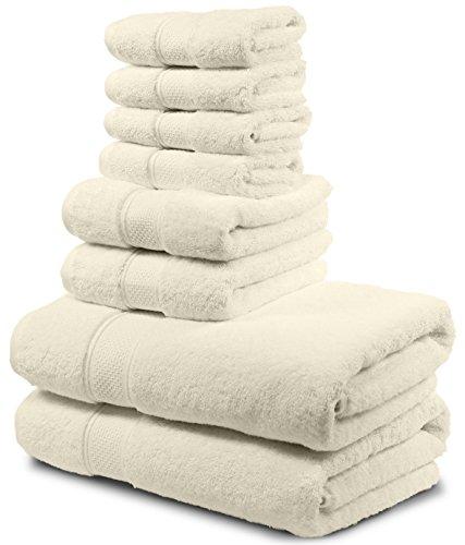 Luxury Bath Towel Set. Hotel & Spa Quality. 2 Large Bath Tow