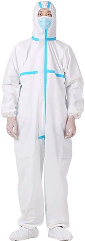 LW Desechables Uniformes Aislamiento Ropa de protección Ropa para no poroso Anti-Polvo Ventilación Bloque infeetion